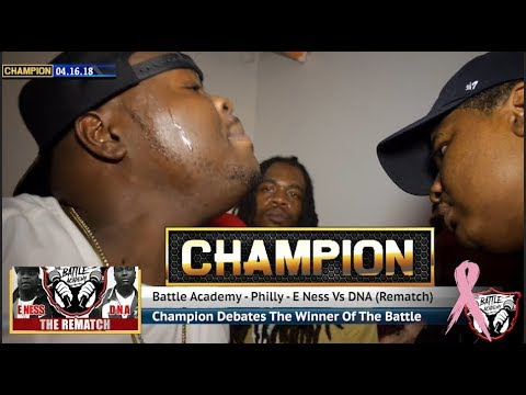 CHAMPION   E.Ness Vs. DNA (The Rematch) - The Battle Academy