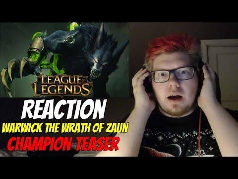 Warwick: The Wrath of Zaun REACTION | Champion Teaser by Riot