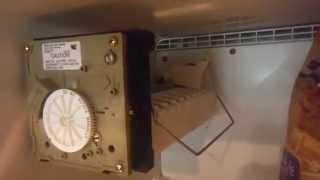 Leaking Whirlpool Modular refrigerator freezer Ice Maker