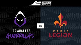 Knockout A | LA Guerrillas vs Paris Legion | London Royal Ravens Home Series | Day 2
