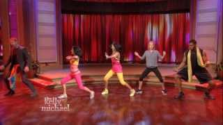 Kellan Lutz Bollywood Workout On LIVE With Kelly And Michael