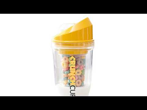Move over sliced bread, the CrunchCup™ is here