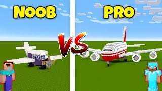Minecraft NOOB vs. PRO: AIRPLANE in Minecraft! AVM SHORTS Animation