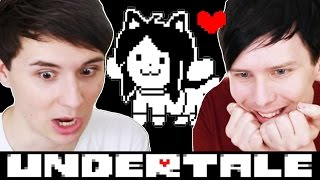 TEMMIE VILLAGE! - Dan and Phil play: Undertale #5
