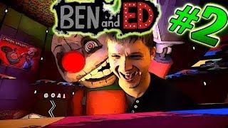 ЗОМБИ БЕГУН Ben and Ed #2 СМЕРТЕЛЬНЫЙ ЗАБЕГ МУЛЬТИК про ЗОМБИ