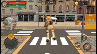 Tiger Family Sim City Attack   Clan of Tigers City Survival - Android GamePlay