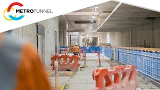 Arden Station works highlights - February to March 2021