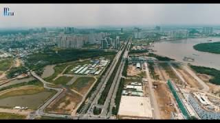 Các Dự Án Lớn Mọc Lên Như Nấm Tại KHU ĐÔ THỊ MỚI THỦ THIÊM - Amazing Drone Vietnam 4k