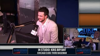 Kris Bryant joins Tiki and Tierney