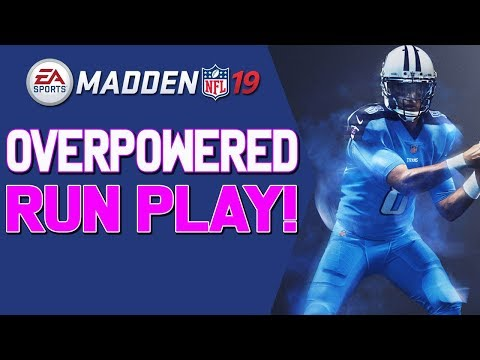 This Run Play Is Money! Run Over Any Defense In Madden 19