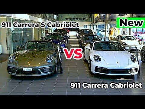 New Porsche 911 Carrera S Cabriolet VS 911 Carrera Cabriolet 2020 Comparison Interior Exterior