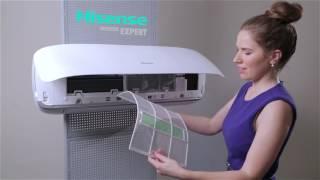 Кондиционер HISENSE AS-24HR4SFBTG от компании F-Mart - видео 1