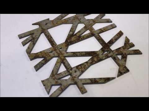 Steel cutting with MECAJET II
