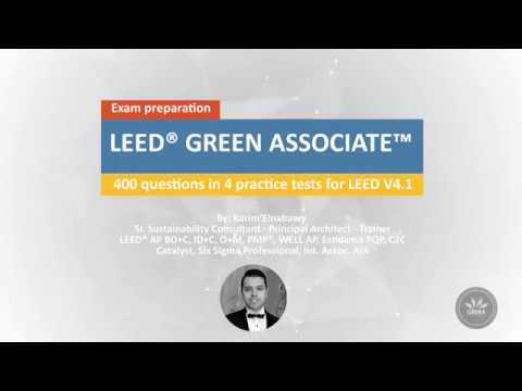 LEED GREEN ASSOCIATE V4 | 400 Questions | Practice Exams ...
