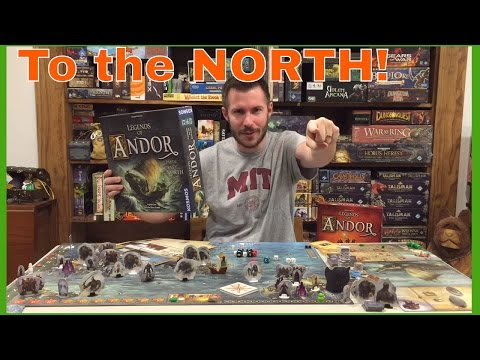 theMCGuiRE review looks at Legends of Andor: PART II JOURNEY TO THE NORTH