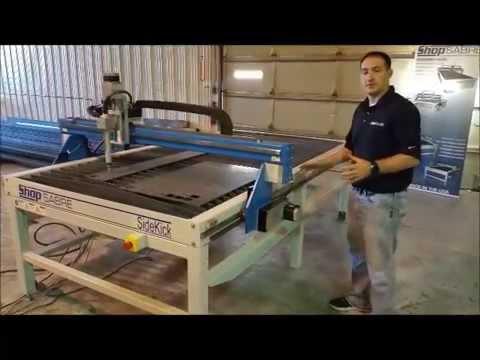 ShopSabre CNC Plasma Overview – SideKickvideo thumb