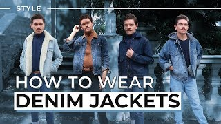 How To Style A Denim Jacket | Mens Style