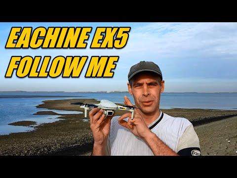 Eachine EX5 How Good Does Follow Me Mode Works Chasing Me Walking and Running