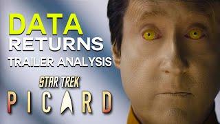 PICARD TRAILER, Seven of Nine, DATA and The Borg? - Star Trek Trailer Analysis