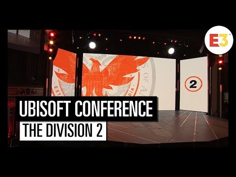 #5 Tom Clancy's The Division 2 – Ubisoft E3 2018 Conference