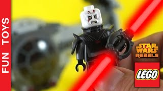 Will Ezra and Chopper plan work? Star Wars Rebels - Will Inquisitor win? - Short - Lego Set 75082 🚀
