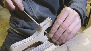 How To Make A CatapultSlingshot From Birch Plywood With Flatbands