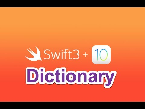 15- Swift 4 || Collection: Dictionary- القواميس