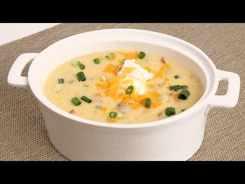 Loaded Potato Soup Recipe – Laura Vitale – Laura in the Kitchen Episode 863