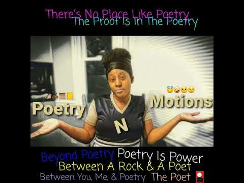 For my spoken word and poetry lovers