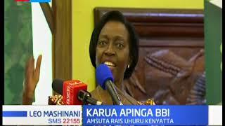 Kiongozi wa NARC Karua amsuta rais Uhuru kwa kupigia debe  ripoti ya BBI