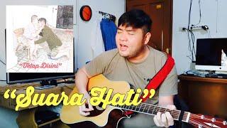 "LIVE acoustic - DEMO VERSION ""SUARA HATI"" - daddytjeuw singing"