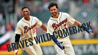 Braves Wild 9th Inning Comeback