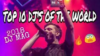 TOP 10 DJ'S OF THE WORLD 2018 | TOP 10 DJ MAG 2018 RESULTS | SMOKEHEAD
