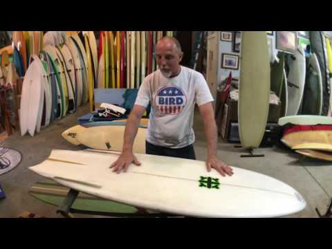 Board of the day! George Gall finless for Derek Hynd