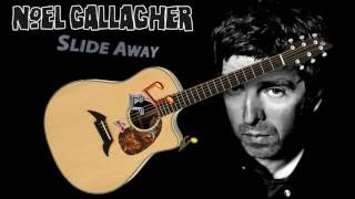 Noel Gallagher - Slide Away - Acoustic Guitar Lesson (easy)