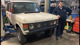 GASI TECNICA: restauro non conveniente,le auto vanno visionate! Range Rover 3.5v8