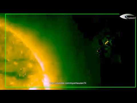 Alien ships – UFOs near the Sun – January 21, 2014