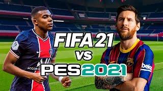 FIFA 21 vs PES 2021 | Gameplay + Trailer