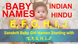 Indian Baby Names - Girl names starting with H - Free video search