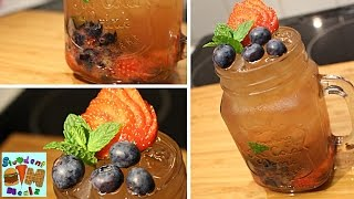 Home made Forest Fruit Iced Tea