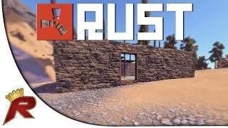 """Rust Gameplay - Part 1: """"Stealing a Base!"""" (Multiplayer)"""