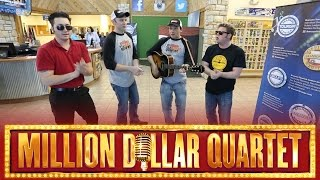 Million Dollar Quartet - Down By The River Side Video