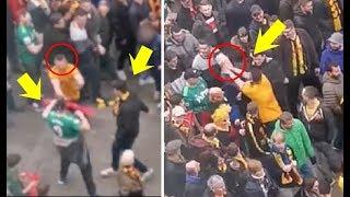 Wolves Fan's Fighting Watford Fan's