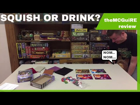 theMCGuiRE review looks at EPIC MONSTER TEA PARTY