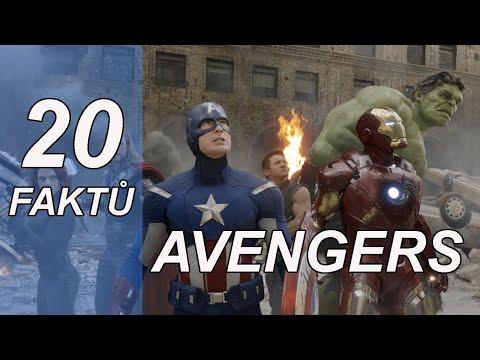 20 FAKTŮ - Avengers (2012)