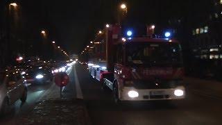 preview picture of video '[Gegenfahrbahn] KELF/ELW 3 BF München mit Pressluft + Löschzug Feuerwache7'