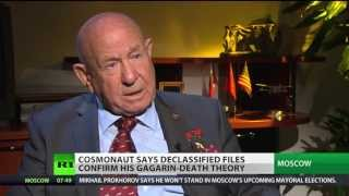Cosmonaut Leonov on Gagarin-death theory
