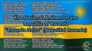 Rwanda National Anthem with music, vocal and lyrics Kinyarwanda w/English Translation