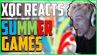 xQc REACTS TO SUMMER GAMES UPDATE (2018)