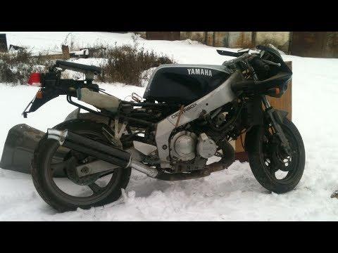 Старый убитый спортбайк Yamaha FZR250R- восстановить или сдать в металл?